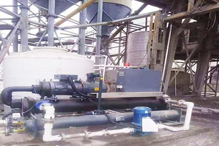 混凝土搅拌站冷却系统