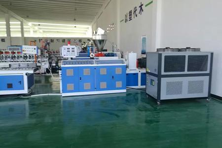 PVC塑木木塑板生產線溫控設備冷卻水降溫擠出冷水機